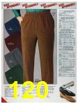 1986 Sears Fall Winter Catalog, Page 120