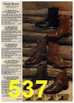 1980 Sears Fall Winter Catalog, Page 537