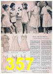 1957 Sears Spring Summer Catalog, Page 357
