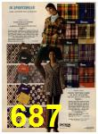 1972 Sears Fall Winter Catalog, Page 687