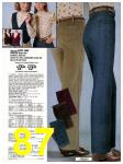 1982 Sears Fall Winter Catalog, Page 87
