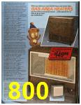 1986 Sears Fall Winter Catalog, Page 800