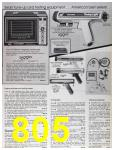 1985 Sears Fall Winter Catalog, Page 805