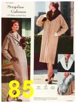 1958 Sears Fall Winter Catalog, Page 85