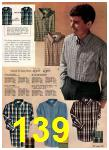 1965 Sears Fall Winter Catalog, Page 139