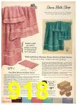 1958 Sears Fall Winter Catalog, Page 918