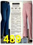 1974 Sears Spring Summer Catalog, Page 489