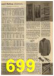 1961 Sears Spring Summer Catalog, Page 699