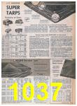 1957 Sears Spring Summer Catalog, Page 1037