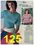 1983 Sears Spring Summer Catalog, Page 125