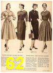1956 Sears Fall Winter Catalog, Page 62