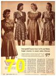 1942 Sears Spring Summer Catalog, Page 70