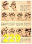 1949 Sears Spring Summer Catalog, Page 229