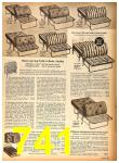 1958 Sears Fall Winter Catalog, Page 741