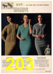 1965 Sears Fall Winter Catalog, Page 203