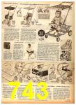 1958 Sears Fall Winter Catalog, Page 743