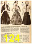 1956 Sears Fall Winter Catalog, Page 124