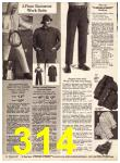 1969 Sears Fall Winter Catalog, Page 314