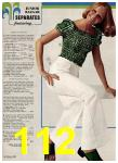 1974 Sears Spring Summer Catalog, Page 112
