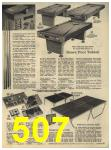 1965 Sears Fall Winter Catalog, Page 507