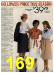1984 Sears Spring Summer Catalog, Page 169