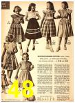 1949 Sears Spring Summer Catalog, Page 48