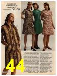 1972 Sears Fall Winter Catalog, Page 44