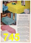 1957 Sears Spring Summer Catalog, Page 745