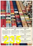1975 Sears Fall Winter Catalog, Page 235