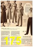 1949 Sears Spring Summer Catalog, Page 175