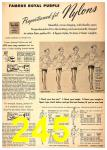 1949 Sears Spring Summer Catalog, Page 245