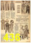1962 Sears Fall Winter Catalog, Page 436