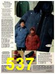 1978 Sears Fall Winter Catalog, Page 537