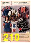 1973 Sears Fall Winter Catalog, Page 210