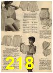 1960 Sears Spring Summer Catalog, Page 218