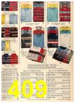 1956 Sears Fall Winter Catalog, Page 409