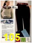 1982 Sears Fall Winter Catalog, Page 105