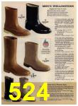 1972 Sears Fall Winter Catalog, Page 524