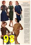 1962 Sears Fall Winter Catalog, Page 98