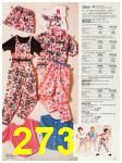 1987 Sears Spring Summer Catalog, Page 273