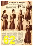 1940 Sears Fall Winter Catalog, Page 62