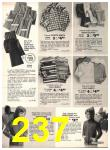 1973 Sears Fall Winter Catalog, Page 237