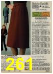 1980 Sears Fall Winter Catalog, Page 261
