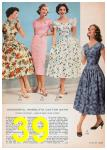 1957 Sears Spring Summer Catalog, Page 39