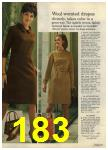 1968 Sears Fall Winter Catalog, Page 183