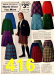 1966 Montgomery Ward Fall Winter Catalog, Page 416