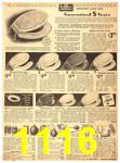 1940 Sears Fall Winter Catalog, Page 1116