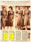 1940 Sears Fall Winter Catalog, Page 89