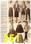 1956 Sears Fall Winter Catalog, Page 351