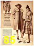 1942 Sears Spring Summer Catalog, Page 85